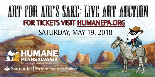 Art for Arf's Sake Auction @ Santander Performing Arts Center | Reading | Pennsylvania | United States