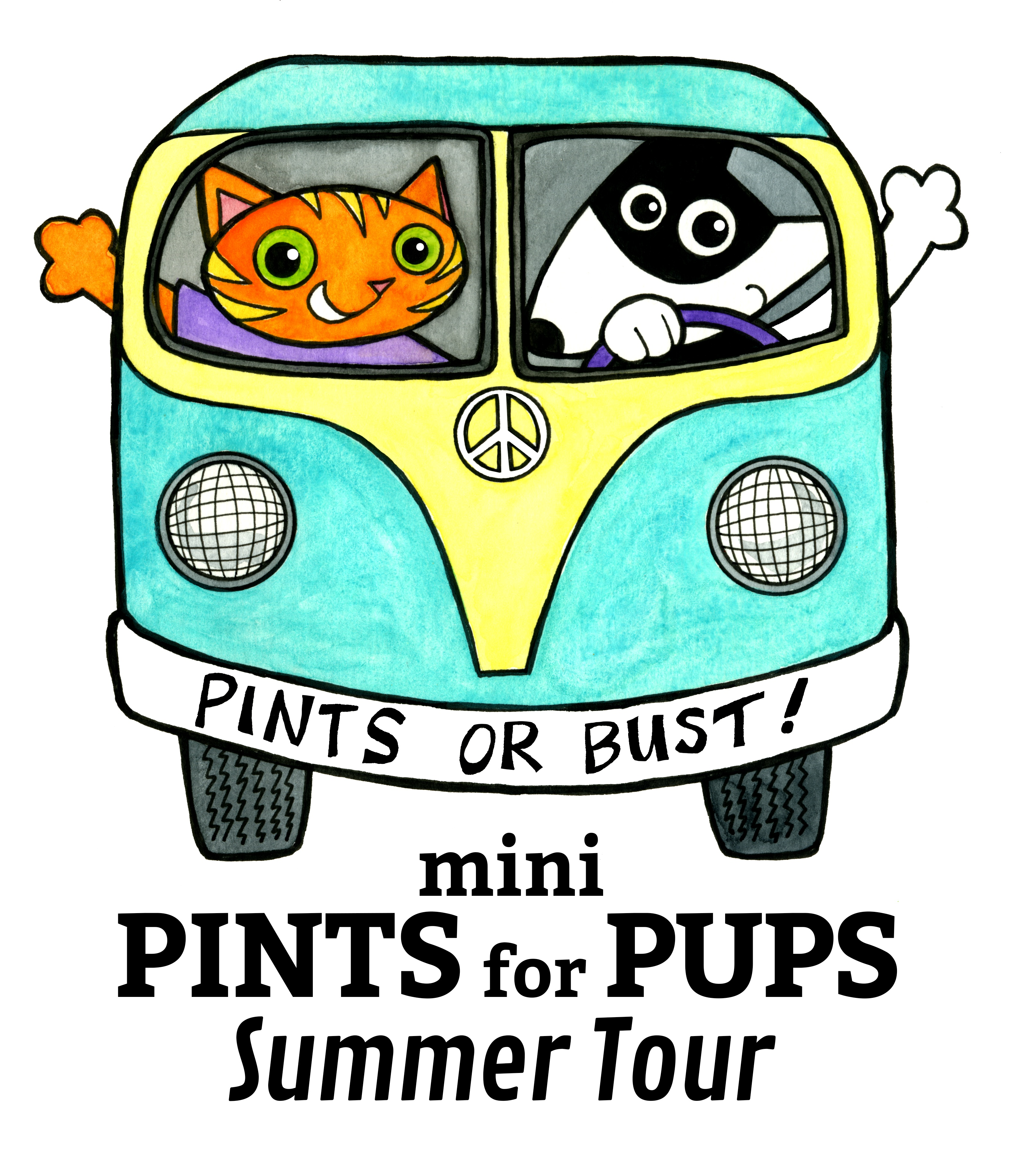 This Year, Pints For Pups Is Going On Tour